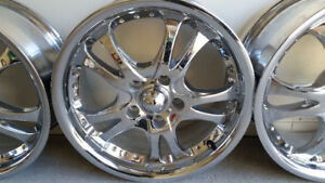 Super Mags Chromes 16 Pouces American Racing 5 X 110 !!!