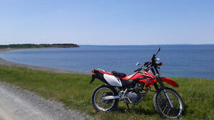 Honda CRF230L  Street and Trail