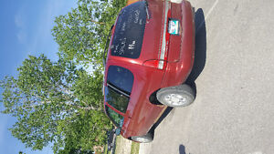1998 Mercury Villager Red Minivan, Van
