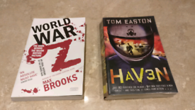 Two books...Plague and Zombies...how apt!