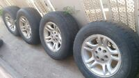 tires and rims for sale or trade