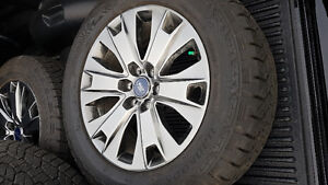 BRAND NEW RIMS- GIVING THE TIRES AWAY ( NEW)