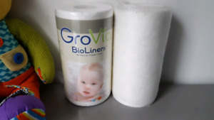 GroVia Bioliners for cloth diapers