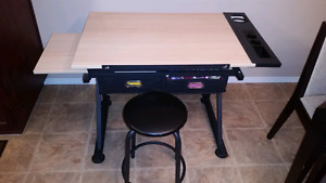 Craft table from Michales