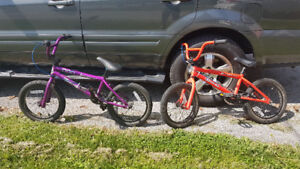 "Bmx 16"" for kids $100 each or B/O"