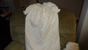 2 DIFFERENT BAPTISM GOWNS FOR SALE
