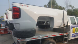 NEW- Pickup Truck Box 2011+ GMC Sierra Chevrolet Silverado WHITE