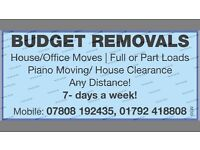 BUDGET REMOVALS. BEST PRICES