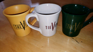 3 MORE THE VIEW MUGS TO GIVE AWAY