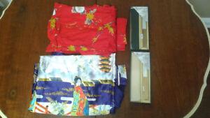 2 Japanese Kimono Robes