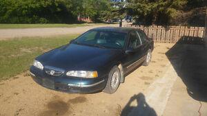 1997 Mercury Cougar BLUE Coupe (2 door)