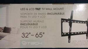 CJ TECH LED & LCD TILT TV Wall Mount Bracket.Brand New Packed
