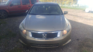 2008 Honda Accord.  Mint Condition. Only 82km
