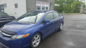 2007 Honda Civic full air toit 3200$