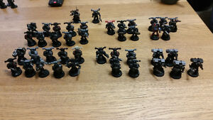Warhammer 40k converted space marines 1000 point army