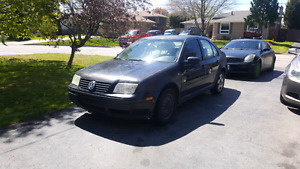 2001 Volkswagen jetta  (manual)