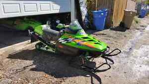 Arctic Cat ZR580. Get on and go!