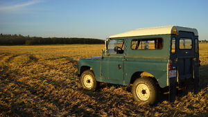 For Sale - 1963 Land Rover Series 2a