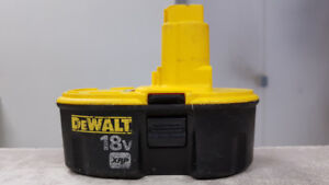 18V DeWALT XRP Battery