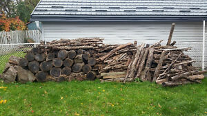 8 cords of oak fire wood. been cut for 4 years Price 300.00