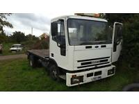 Iveco recovery truck spec lift mot exempt all good export or spares