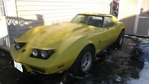 1976 CORVETTE  L 48 TRADE FOR HARLEY