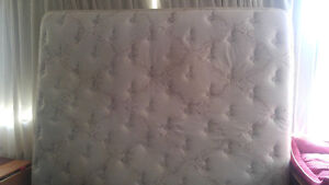 King size mattress good condition $100