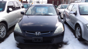 2003 HONDA ACCORD EX, LEATHER FULLY LOADED