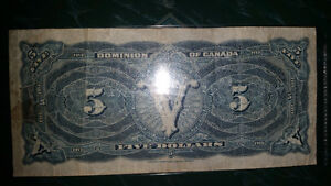 1912 train note very very RARE!! in great condition for its year London Ontario image 4