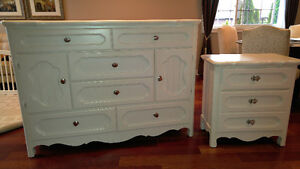 Dressers and wall art