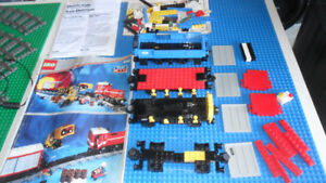 LEGO TRAIN ELECTRIC 9V 4563 load & Haul 1991 incl instructions