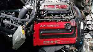 JDM MITSUBISHI 4G63 TURBO ENGINE AWD AUTOMATIC TRANSMISSION