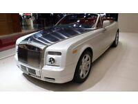 ROLLS ROYCE PHANTOM DROPHEAD HIRE WEDDING CAR PROM