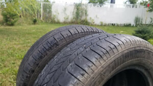 2x pneus Good Year Integrity 225/60R17