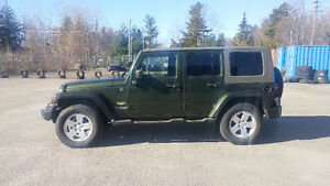 2007 Jeep Wrangler Unlimited Trail Rated VUS