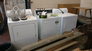 3 dryers