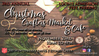 CHRISTMAS CRAFTERS MARKET & CAFE
