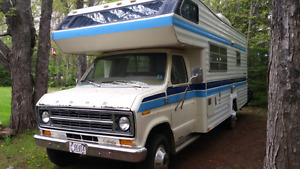 1977 ford 24ft motorhome