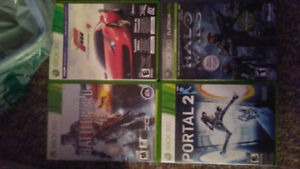 4 xbox 360 games. $10 each or take all 4 for $30.