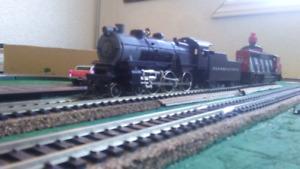Lifelike 4-6-0 HO scale steam locomotive