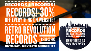 New Customers at RETRO REVOLUTION - Sale Ends Saturday ! 30% Off