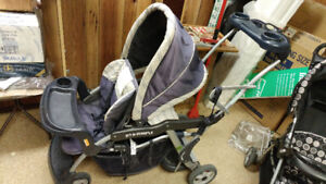 Baby Trend Sit-n-Stand Double Stroller