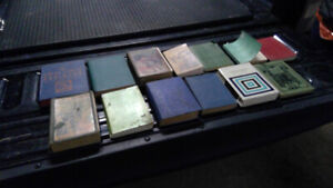 Large Lot of Antique literary classics! great collection of book