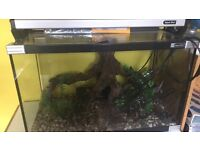 65l tank hardly used with full accessories