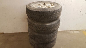 TIRES 235/70R16 - $300 WITH RIMS OBO and 195/60R/15 winter tires
