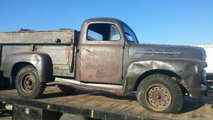 SOLID WESTERN 1951 FORD 1 TON PICK UP