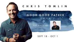 Chris Tomlin Concert Ticket - Calgary