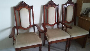 3 dining chairs good quality