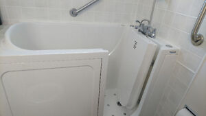 Premier Care walk-in jetted tub