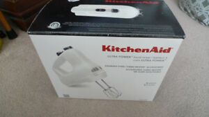 New KitchenAid 5-Speed Ultra Power Hand Mixer .